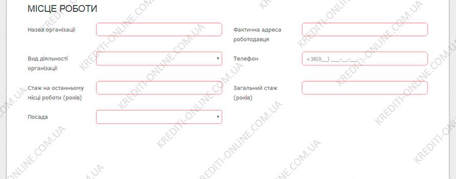 Кредит на 10000 грн